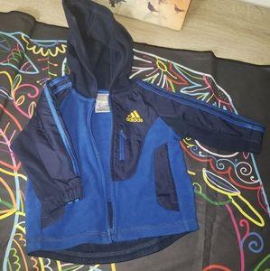 Adidas jacket baby 6m